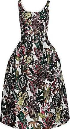 d4859c5be2c Oscar De La Renta Oscar De La Renta Woman Midi Dress Multicolor Size 10