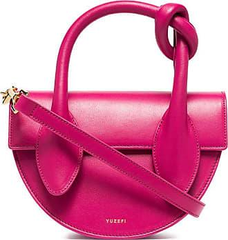 Yuzefi Dolores knot mini tote bag - PINK