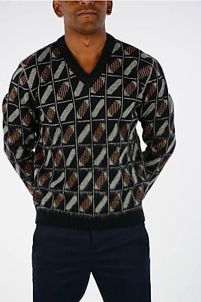 Lanvin V Neck GEOMETRIC Pullover size S