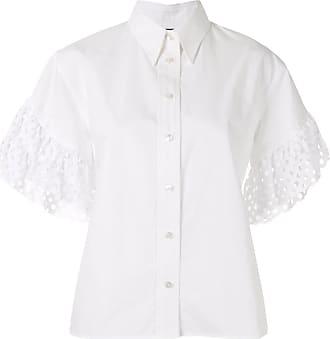Kolor laser cut sleeves shirt - White