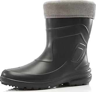 Ladeheid Womens EVA Thermo Extra Light Wellington Boots Rainy Wellies Rain Boots LA-800-2017 (Graphite/Grey, 3.5 UK)