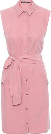 Shoulder Vestido Chemise Utilitário Shoulder - Rosa
