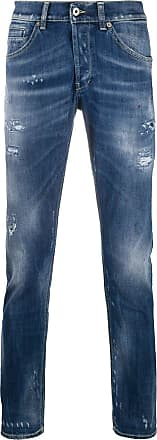 Dondup distressed slim-fit jeans - Azul