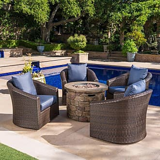 BEST SELLING HOME Stillwater Outdoor Circular Natural Stone Fire Pit - 300712