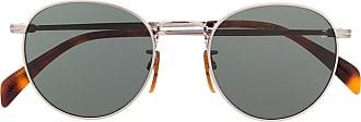 David Beckham Armação de óculos redondo - Prateado