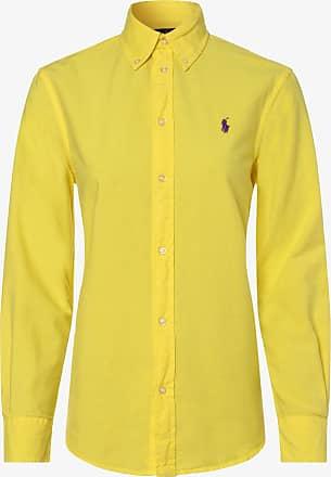 Polo Ralph Lauren Damen Bluse - Relaxed Fit gelb