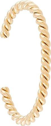 Isabel Lennse Bracelete torcido - Dourado