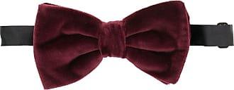 Dolce & Gabbana Gravata borboleta de veludo - Vermelho