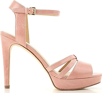 3f183360b0 Michael Kors WOMENS 40S7CAHA1L657 PINK LEATHER SANDALS