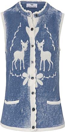 Peter Hahn Knitted waistcoat Peter Hahn blue