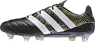 buy popular 0978b 15f29 adidas Herren Ace 16.1 SG Leather Fußballschuhe, Schwarz  (NegbasFtwblaDORMET)