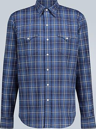 Ralph Lauren Purple Label Checked cotton shirt