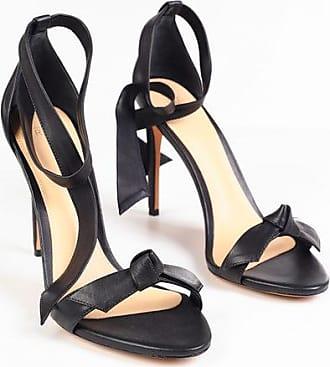 Alexandre Birman Leather CLARITA Lace Up Sandals 10 cm size 36,5