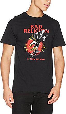 CID Batman-Logo Mono Distressed T-Shirt Uomo