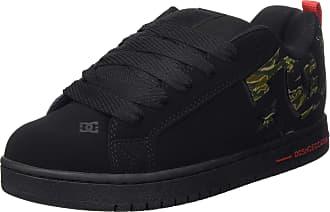 DC Mens Court Graffik Se Skateboarding Shoes, Black (Camo CMO), 10.5 UK