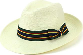 Cowboy Hat Straw Hawkins Black Brown Band Summer Fedora Brim Bush