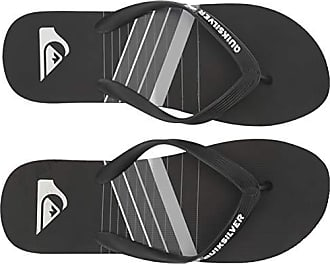 Quiksilver Mens Molokai CORE Slash Sandal, Grey/Black, 6(39) M US
