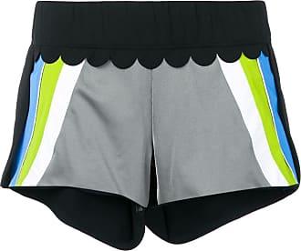 No Ka'Oi colour block track shorts - Black