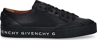 Givenchy Sneaker low TENNIS LIGHT Kalbsleder Logo schwarz