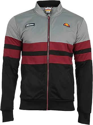 Ellesse Heritage SWS Mens Zip Striped Jacket (L)