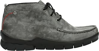 Wolky Comfort Lace up Boots Misty - 10203 Grey Nubuck - 42