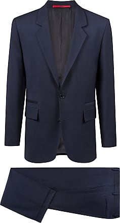 HUGO BOSS Unisex suit in virgin wool with natural stretch
