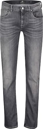 7 For All Mankind Mens Slimmy Luxe Performance Jeans 36 Grey
