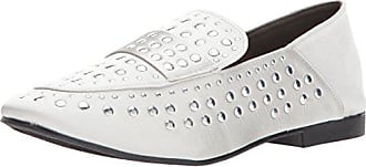Qupid Womens MOBY-21 Mule, Silver Grey, 9 M US