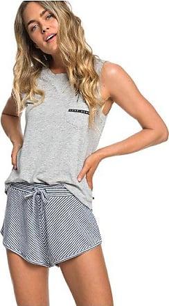 917ce1a6d9a Roxy Forbidden Summer Stripe - Short en molleton pour Femme - Bleu - Roxy