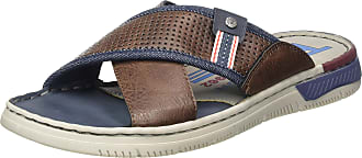 Tom Tailor Mens 8081102 Mules, Brown 00012, 9.5 UK