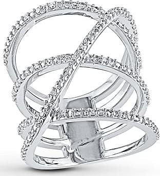 Kay Jewelers Diamond Ring 1/5 ct tw Round-cut Sterling Silver