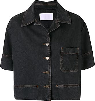 Ingorokva Camisa jeans Eleni - Preto