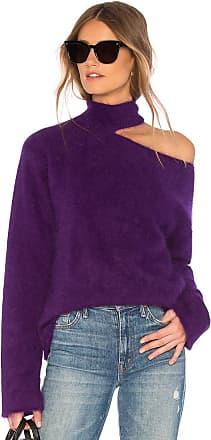 Rta Langley Mohair Sweater in Purple