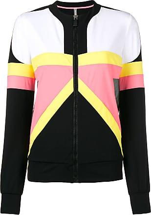 No Ka'Oi contrast panel performance jacket - Black
