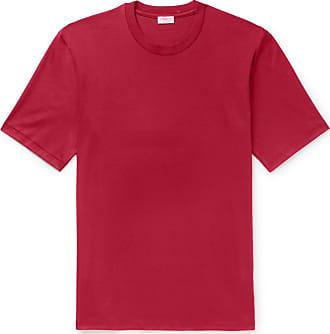 Zimmerli Sea Island Cotton-jersey T-shirt - Red