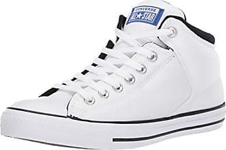 9b01fb80c70 Converse Mens Unisex Chuck Taylor All Star Street High Top Sneaker,  White/Blue/