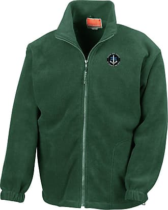 Military Online SBS Special Boat Service - Royal Marines Special Forces Embroidered Logo - Official MOD - Full Zip Heavyweight Fleece Jacket