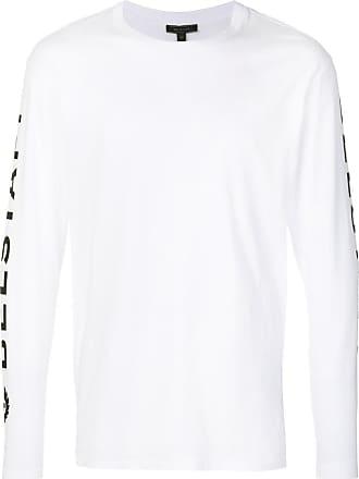 Belstaff Camiseta mangas longas com logo Bratton - Branco