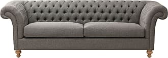 Dekoria Sofa Chester Grey 237x90x80cm