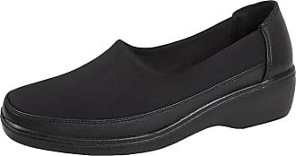 Lora Dora Womens Memory Foam Stretch Work Shoes Memory Foam, Black - Memory Foam, 3 UK