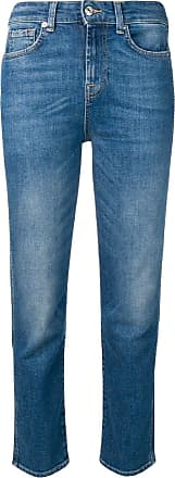 7 For All Mankind Asher Vintage straight-cut jeans - Blue
