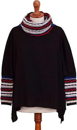 Novica Alpaca blend pullover, Festive Streamers