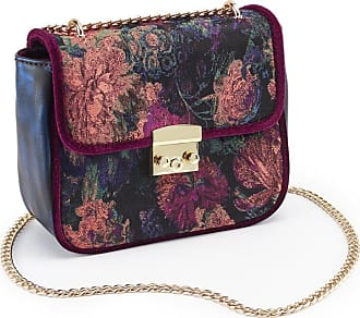 Joe Browns NEW Rebel purple glitter women/'s ladies clutch shoulder evening bag