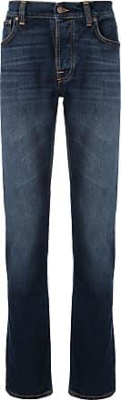 Nudie Jeans Calça reta - Azul