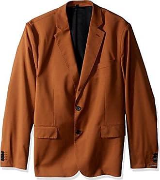 J.Lindeberg Mens Comfort Wool Blazer, Glazed Ginger 52