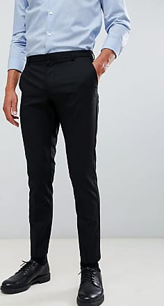 Burton Menswear skinny fit smart trousers in black