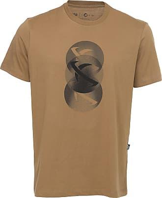 ...Lost Camiseta...Lost Halftone Bege