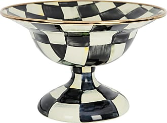 MacKenzie-Childs Courtly Check Enamel Serving Bowl - Small