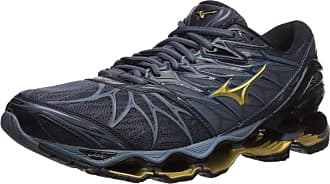 Mizuno Mens Wave Prophecy 7 Running Shoe, Black/Ombre Blue, 7 UK