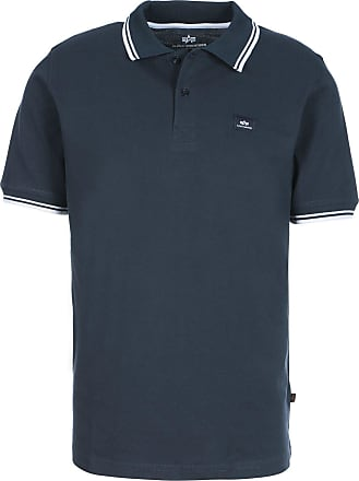 2fa5d97c794a1 Alpha Industries Polo Shirt Twin Stripe Polo II